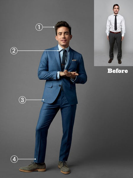 Can Short Guys Look Good in Suits?