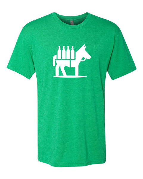Green Craft Beer Mule T-Shirt