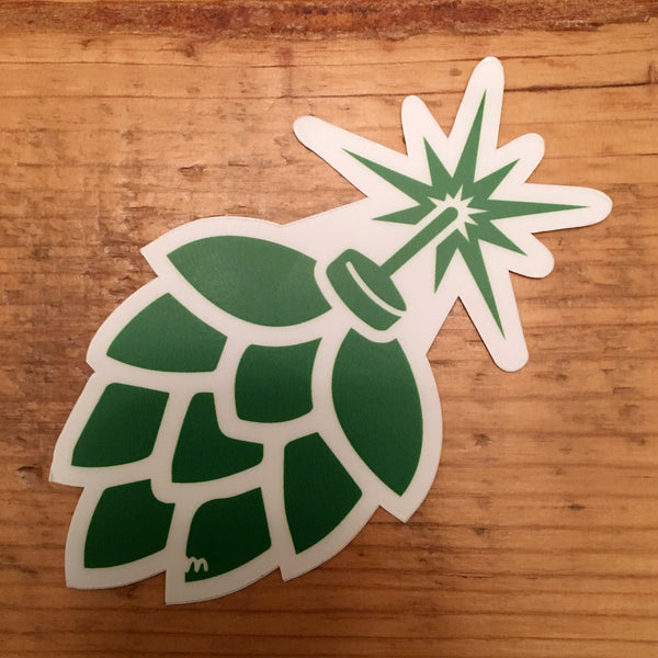 Hop Bomb Sticker