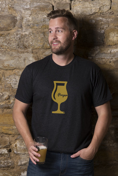Proper Glassware Beer T-Shirt