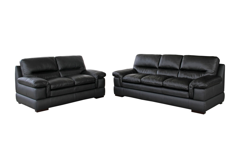 Alberta Leather Sofa