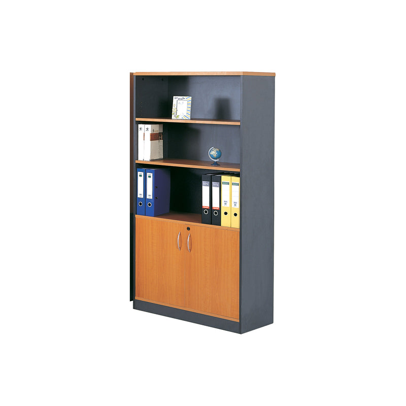 Chandler Home Office 2 Door Bookcase