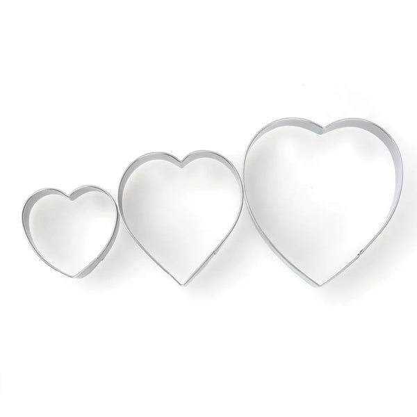 3 Piece Descending Heart Cutter Set in