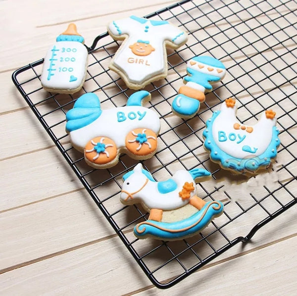 7 Piece Baby Shower Cutter Set in Baking Tools