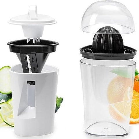 Juicer and Spiralizer with Bonus Peeler in