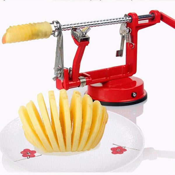 3 in 1 Peeler Corer and Slicer - Red in Knives and Peelers