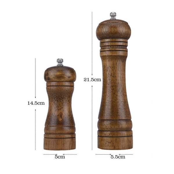 Salt And Pepper Hand Grinder - Oak in Salt and Pepper Mill