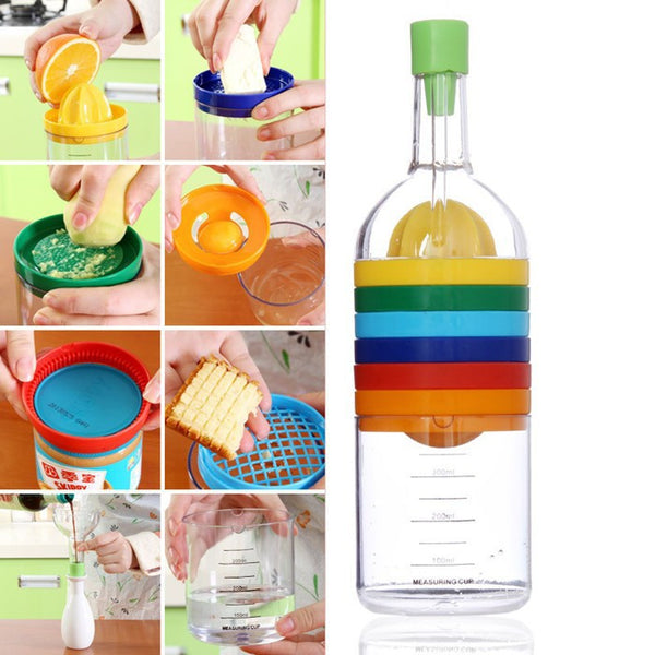 Multifunction 7 in 1 Bottle - Everything But a Kitchen Sink in Kitchen Gadgets