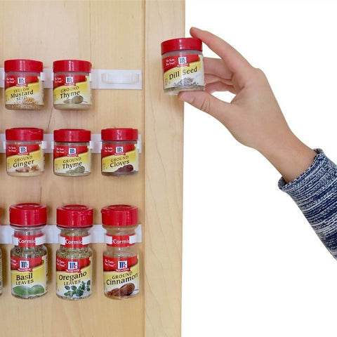 4 Piece Cupboard Door Spice Rack in Spice Rack