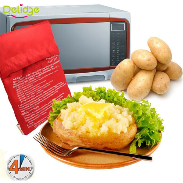 Steam Pocket - Microwave 4 Potatoes In 4 Minutes in Cooking Tools