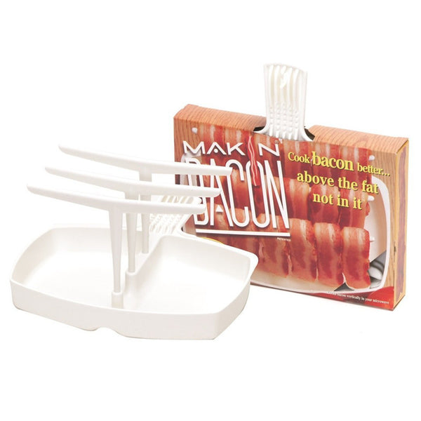 The Original Makin' Bacon Microwave Bacon Rack in Kitchen Gadgets