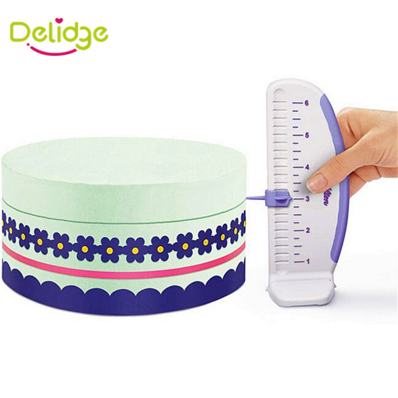Cake Ruler and Marker -Cake Decorating Dream Gadget in Baking Tools