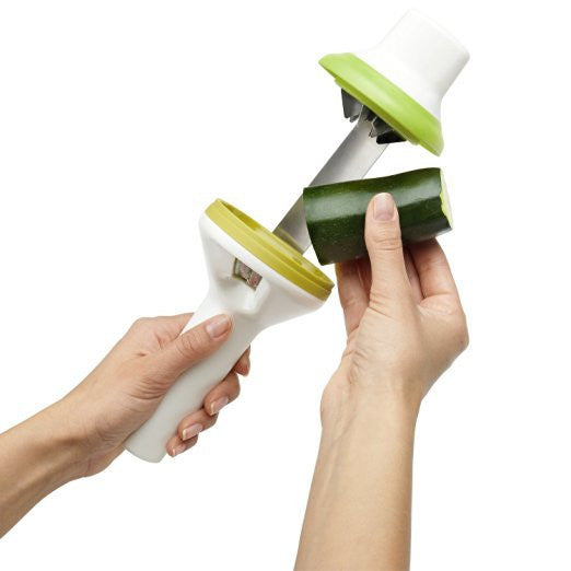 Vegetable Spiralizer - Easier and Safer to Use than Traditional Spiralizers in Knives and Peelers