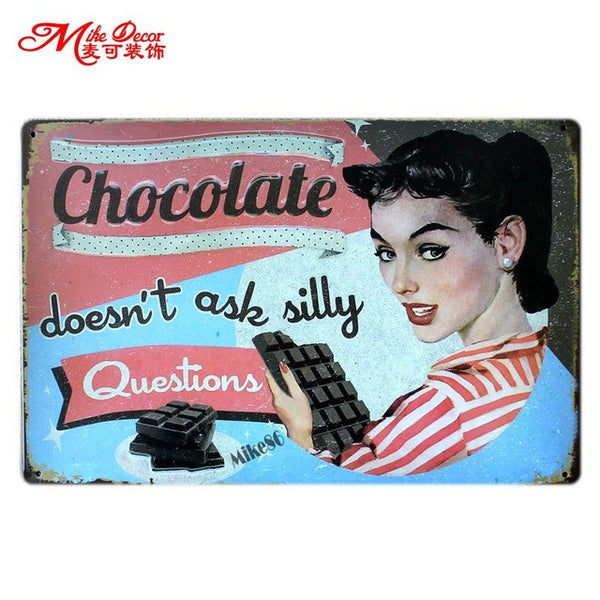 Tin Signs - Kitchen Decor - Collection 3 in Kitchen Decor