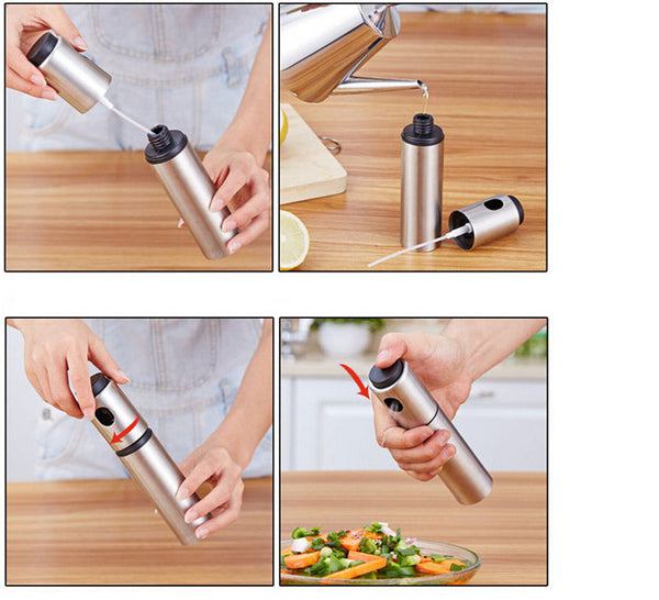 Stainless Steel Sprayer - Great for Oil and Vinegar in Dispenser