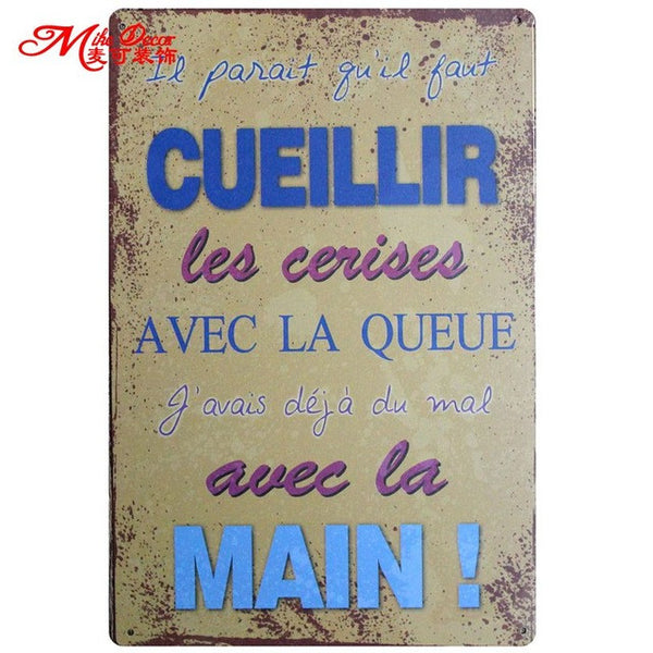 Tin Signs - Kitchen Decor - Collection 1 in Kitchen Decor