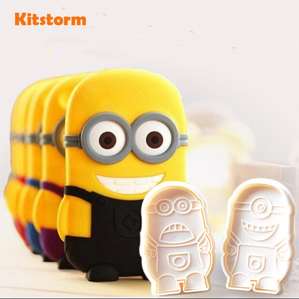 Minion Molds - 2 Piece Set in Cutters