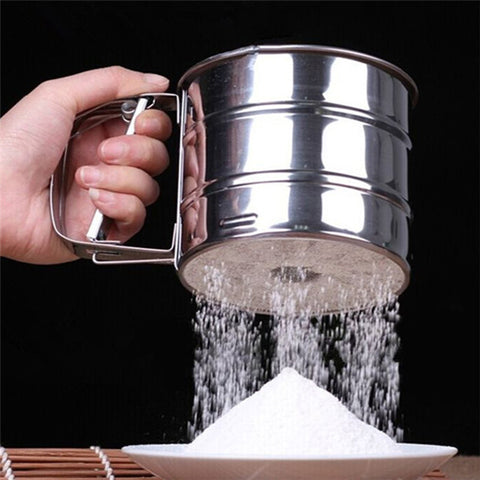 Stainless Steel Flour Sifter in Baking Tools