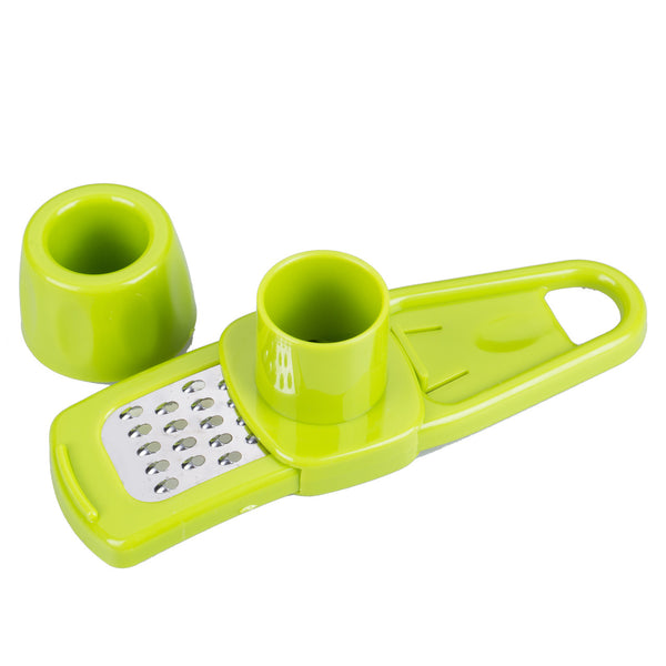 Garlic Grater - Great for Ginger Too in Slicers