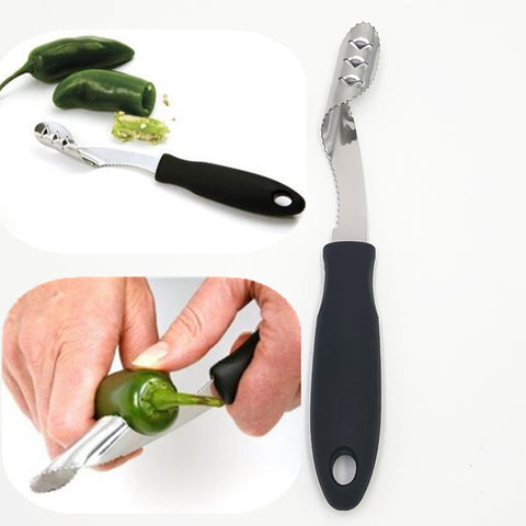 Chili Pepper Corer - Stuffed Jalapenos Here We Come in Pitters and Corers