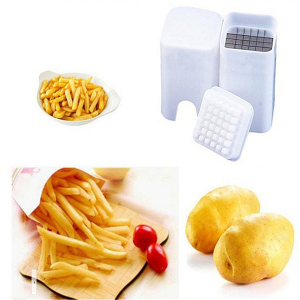 French Fry Potato Cutter - Great for Sweet Potato Fries and Stir Fry Too in Slicers