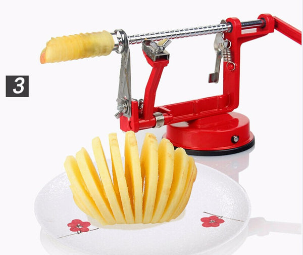 3 in 1 Peeler Corer and Slicer - White in Knives and Peelers