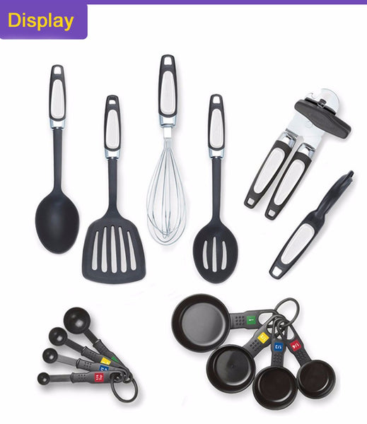 14 Piece Utensil and Tool Kitchen Set - Essential Kitchen Gear in Kitchen Utensil