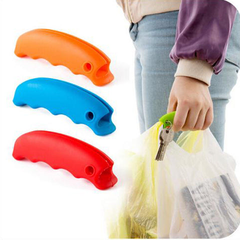 Shopping Bag Handle - Rubber Handle with Spot for Keys in Kitchen Gadgets