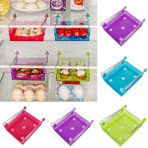 Slide Storage Containers - Make Extra Space to Store More in Food Storage