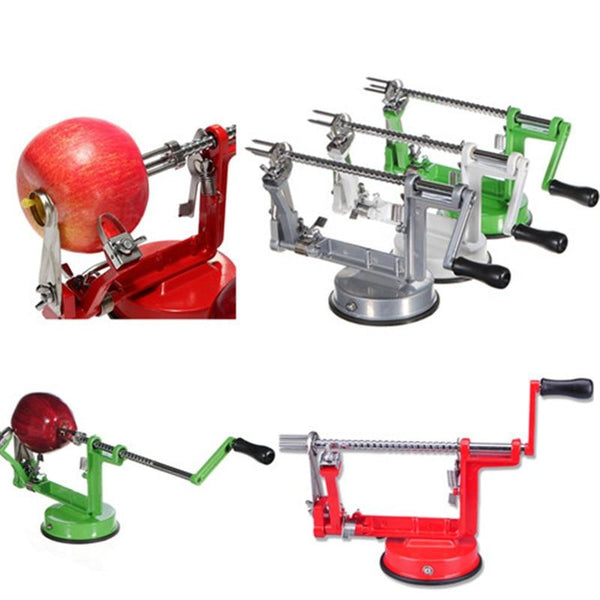 3 in 1 Peeler Corer and Slicer - Silver in Knives and Peelers