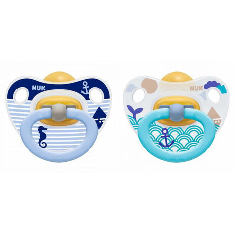 NUK Happy Kids Latex Soother Size 2 (Isi 2 pcs)