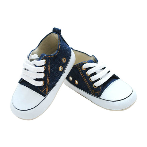 M and M BABY SHOES Sneaker - Denim