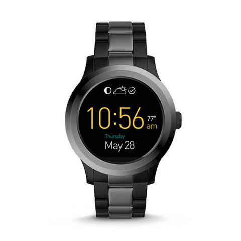 FOSSIL Q Founder 2.0 Touchscreen Two-Tone Stainless Steel Smartwatch - Jam Tangan