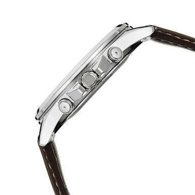 CASIO Enticer Leather Band MTP-E303L-7AVDF -Jam Tangan