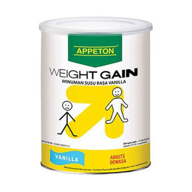 APPETON WEIGHT GAIN ADULT Vanilla 450 GR