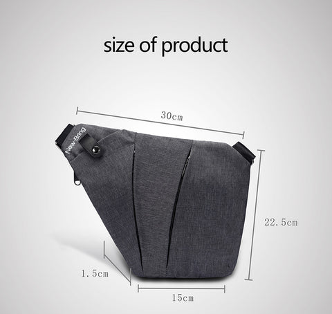 Ultra Thin Sling Bag