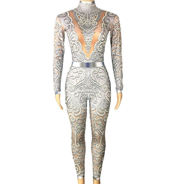 Performance drag queen dance costume