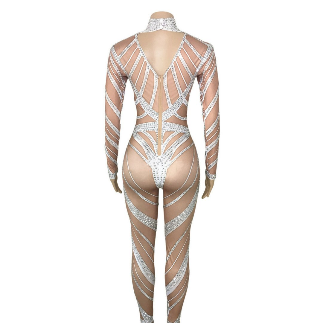 """Captivity"" performance bodysuit"