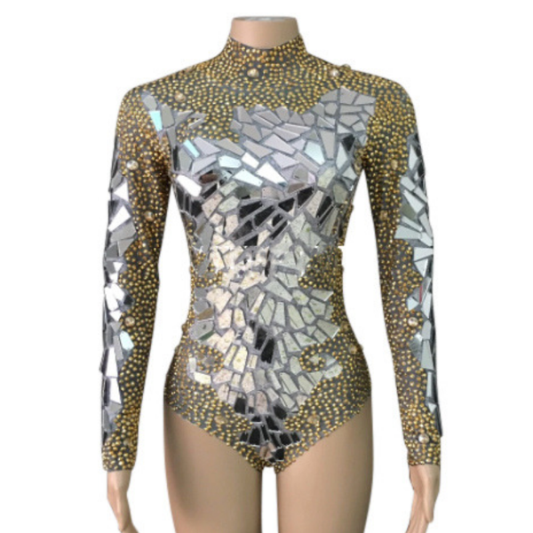 lyrical rhinestone dance salsa costume