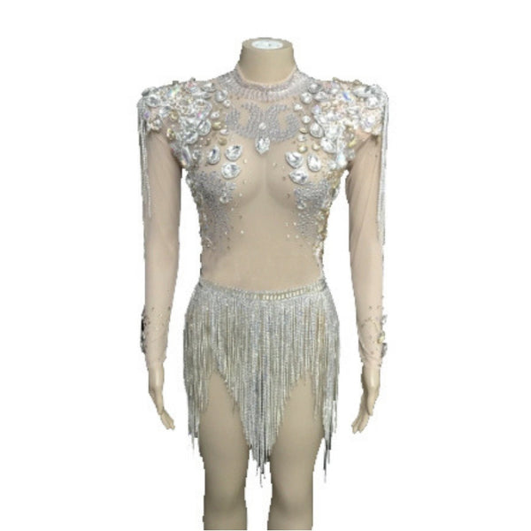 Performance dance costume salsa bachata drag queen costume