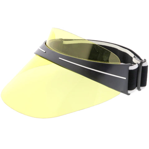 Transparent Color Tinted Sun Visor Club C743