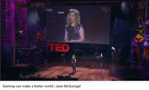 "Jane McGonigal:  Gamer, Futurist, Author of ""Reality is Broken"" Book"