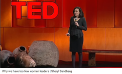 "Sheryl Sandberg:  Facebook COO and Author of ""Lean In"" book"