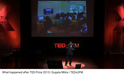 "Sugata Mitra:  Presenter of ""The Hole in theWall"" TED talk"