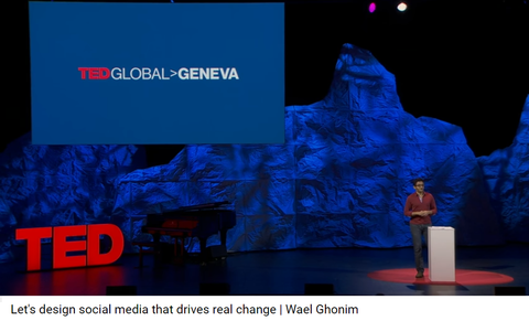"Wael Ghonim:  Creator of ""We are all  Khaled Said"" Facebook Page (and ""Revolution 2.0 book"")"