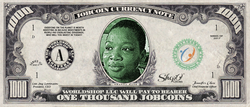 Collect the Okanta Kate Limited Edition of the 1,000 JobCoin™ Note -- April 2017 Honoree