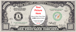 Buy more 1,000 JobCoin™ Notes