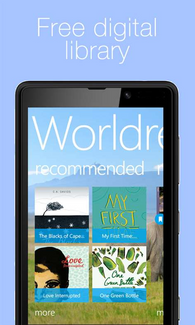 Worldreader Open Library App -- Earn 1,000 JobCoins for installing and posting screenshot