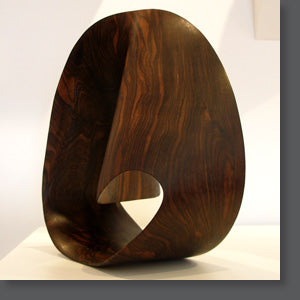 The ShopO Way Sculpture -- Wooden Möbius Strip