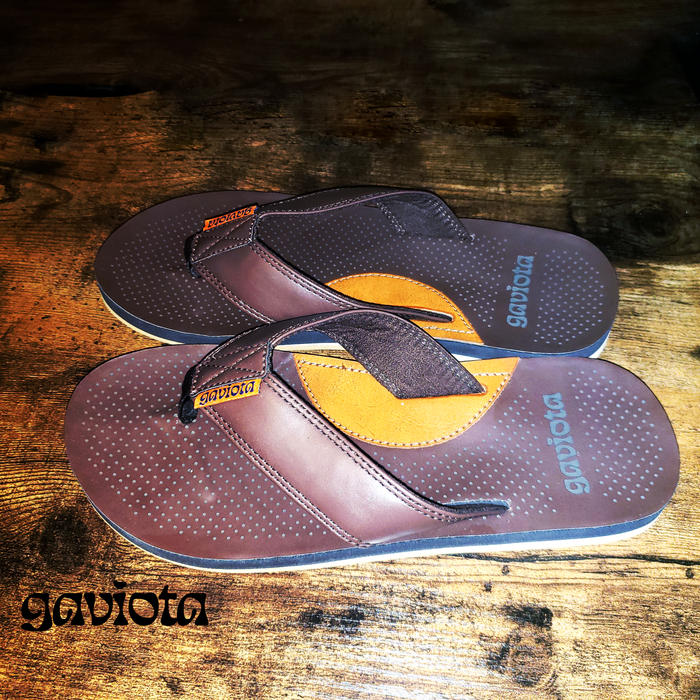 """The Gaviota Grok"" Sandals (dark brown)"